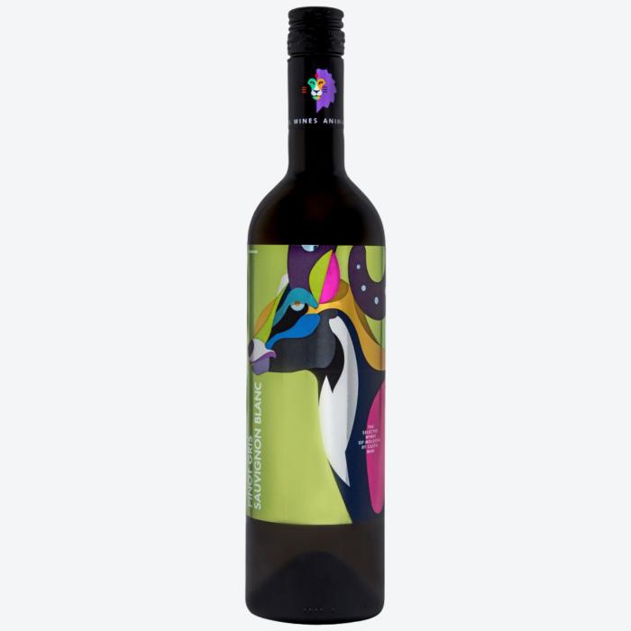 Castel Mimi AnimAliens Pinot Gris Sauvignon Blanc