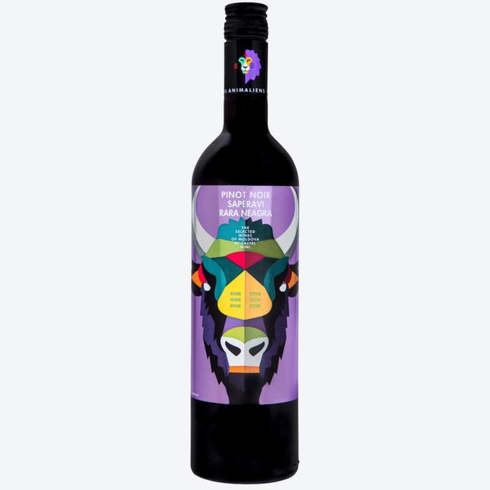 Castel Mimi AnimAliens Pinot Noir Saperavi Rara Neagra