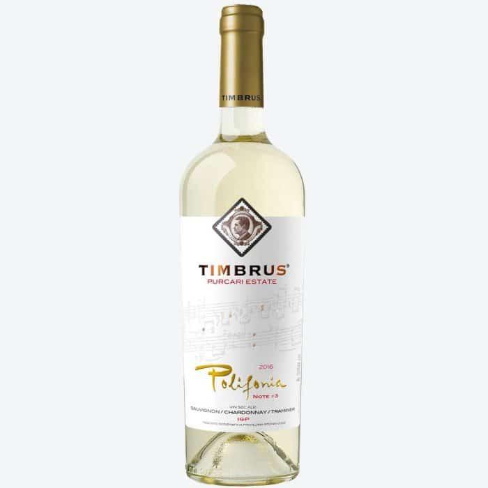 Timbrus Polifonia de Purcari 3 Chardonnay Sauvignon Blanc Traminer