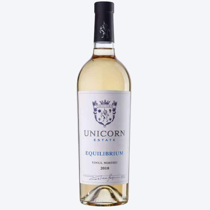 Unicorn Equilibrium Vinul Miresei Chardonnay Muscat Rkatiteli 2018