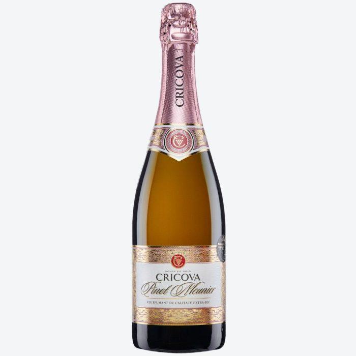 Cricova Pinot Meunier Rose Extra Brut Pinot Meunier