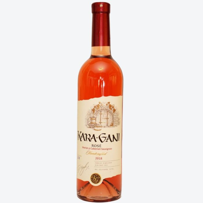 Kara Gani Rose Merlot Cabernet Sauvignon 2018
